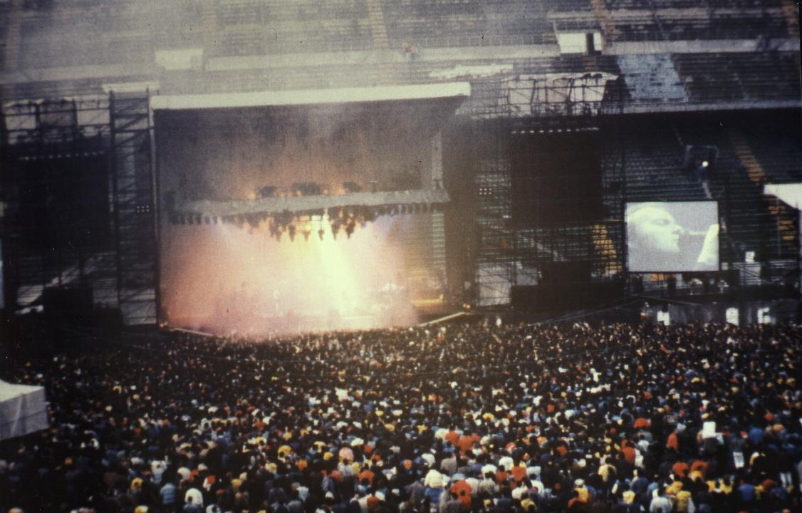 Rare Genesis Photos Milano 1987 1